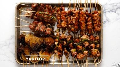 RecipeTin Eats x Good Food: Chicken yakitori