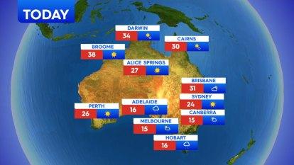 National weather forecast for Wednesday, September 23