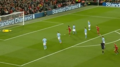 Liverpool beat Man City in EPL