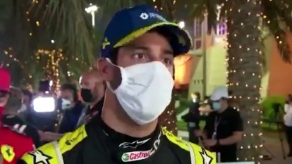 Australia's Daniel Ricciardo says coverage of Romain Grosjean's horror crash at the Bahrain Grand Prix was disgusting and disrespectful.