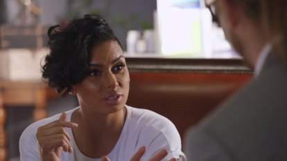 Lauren Govan takes her date on a colon cleanse