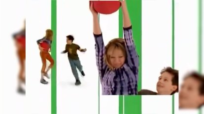 Lizzie McGuire opening credits starring Hilary Duff