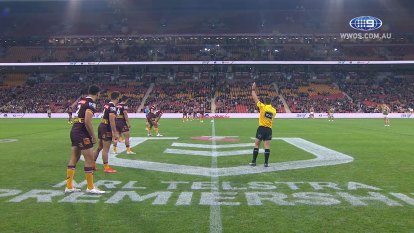 The Broncos host the Rabbitohs in round 15 of the NRL Premiership