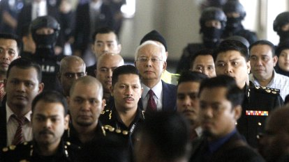 Najib Razak's multimillion-dollar corruption charges revealed