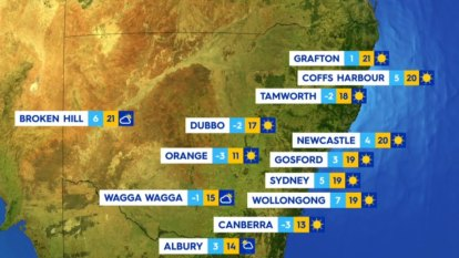 National weather forecast for Friday July 30