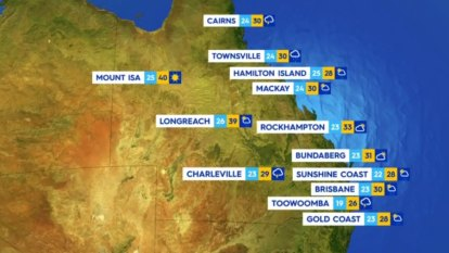 National weather forecast for Monday, January 18