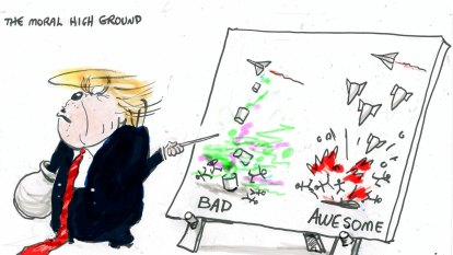 The latest illustrations from artist Alan Moir