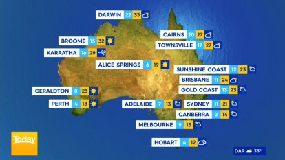 Showers and storms to descend on Australia's southeast