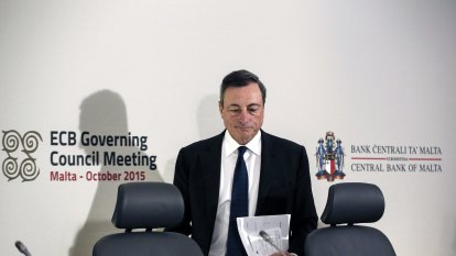 The four policy levers the ECB's Mario Draghi could use to lower the euro