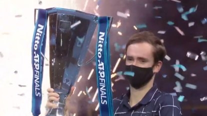 Daniil Medvedev has won the ATP Finals, coming back from a set down to defeat Dominic Thiem in the decider.