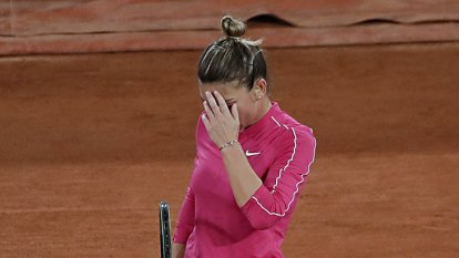Top-seed Simona Halep knocked out of French Open