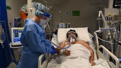 Inside Sydney's COVID-19 ICU