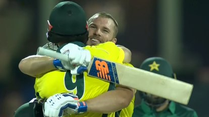 Finch pleased with breakthrough century