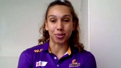 Indigenous netballer wants to be 'role model'
