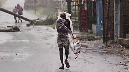 Cyclone Amphan tears into India and Bangladesh