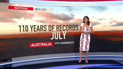Australia records fourth warmest July on record