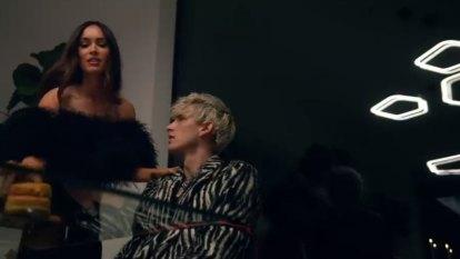 Megan Fox in Machine Gun Kelly's 'Bloody Valentine' music video