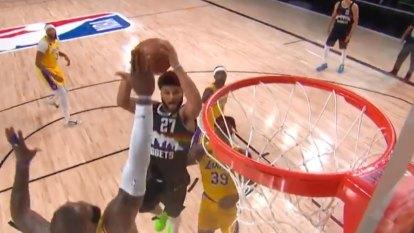 Murray's Jordan-esque bucket
