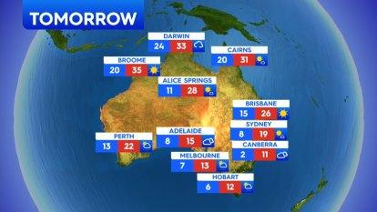 National weather forecast for Friday, September 25