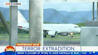 'Tinnie terrorists' extradited from Cairns