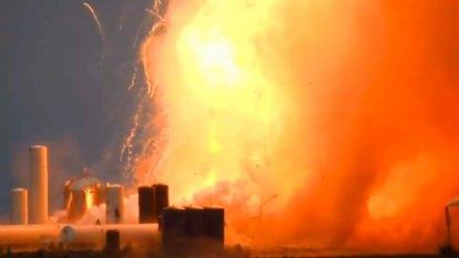 SpaceX prototype explosion