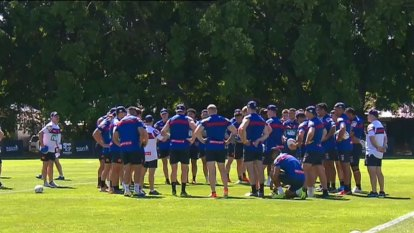 Newcastle captain Mitchell Pearce has told Knights players they must harden up for next NRL season.