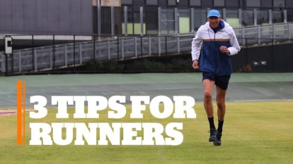 The three most important tips for runners