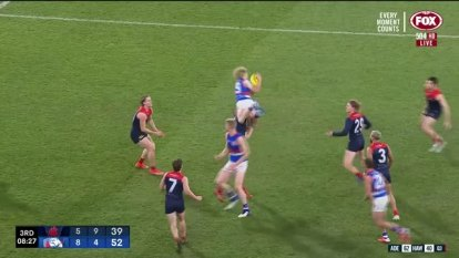 Western Bulldogs skipper Marcus Bontempelli came up with multiple clutch plays in his side's 20 point win over Melbourne at the MCG. This victory edges the Dogs into top spot while the Demons have now lost three from six.