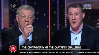Phil Gould and Paul Gallen have gone blow for blow over the NRL's six-again rule.