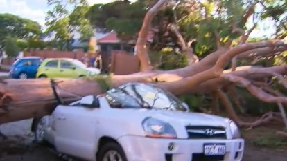 Perth hit by shock weather event