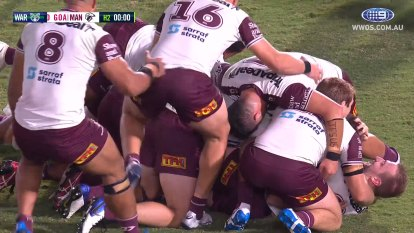 Highlights from the Warriors v Sea Eagles match on the Central Coast.