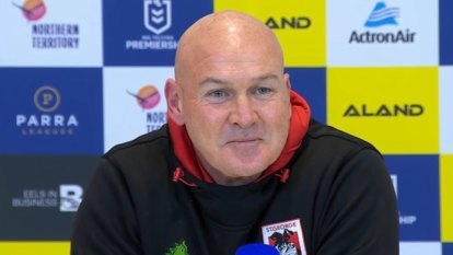 Outgoing Dragons coach Paul McGregor reveals he hasn't been able to see his ill father for three months due to the NRL's COVID-19 protocols.