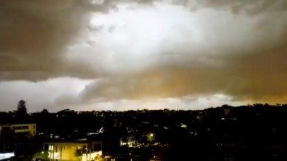 Severe storms batter Sydney region
