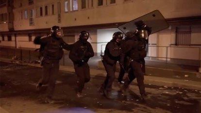 Fourth night of unrest in Paris suburbs amid coronavirus lockdown