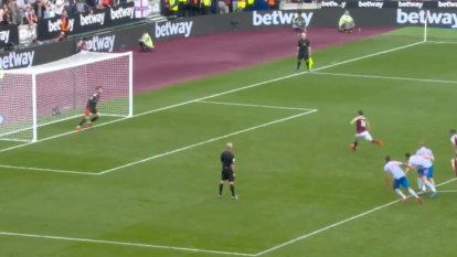 Noble subbed on just for penalty but can't convert
