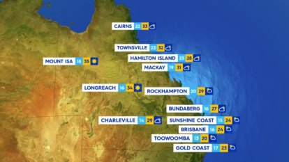 National Weather forecast for Wednesday October 13
