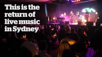 DMA'S bring live music back to Sydney