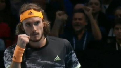 Tsitsipas wins ATP Finals