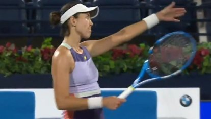 Muguruza spoils Clijsters' tennis return