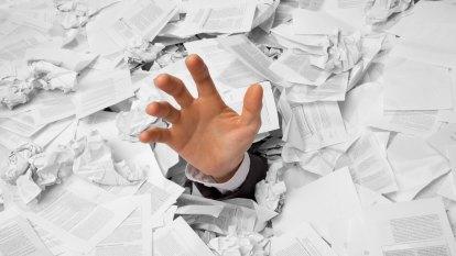 The make-work program: a true tale of bureaucratic misery