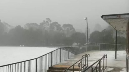Areas of heavy rainfall forecast across much of Victoria
