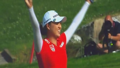 Minjee Lee wins first golf major