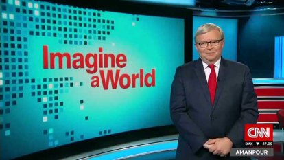 Introducing anchorman Kevin Rudd
