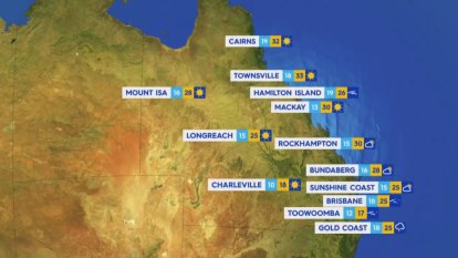 National Weather forecast for Tuesday September 21