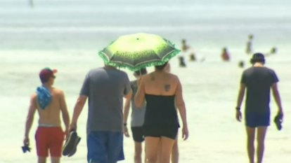 Easter heatwave weather coming for long weekend