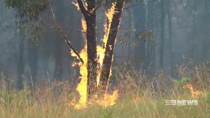 RFS back-burn ahead of heat wave