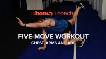 5-move workout: Chest, arms and ab