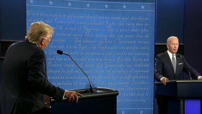 US Election 2020: Trump and Biden trade insults in first presidential debate