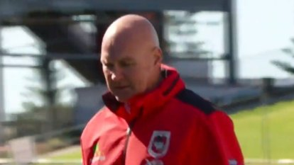 Paul McGregor will coach his last game for St George Illawarra this weekend