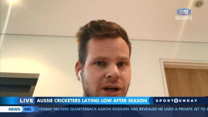 Smith says cricketers 'lucky' amid virus